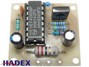 Elektronická siréna s kolísavým tónem elektronická stavebnica