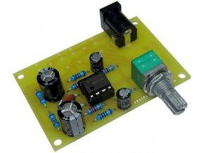 Zesilovač pro sluchátka elektronická stavebnica