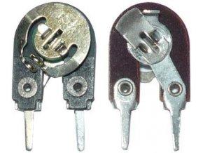 15k - WN79010, trimer lakosazový stojatý RM5mm, 2 vývody / ~ TP008 /