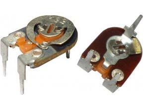 100k - TP009, trimer lakosazový ležatý RM10x5mm