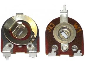 100k - TP041, trimer lakosazový ležatý, RM = 10x17,5mm