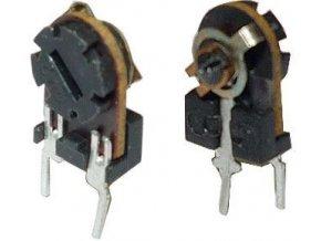 10k - TP005, trimer lakosazový stojatý RM5x2,5mm