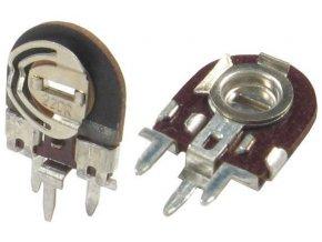 100k - TGL11886, trimer lakosazový stojatý RM5x2,5mm / ~ TP008 /