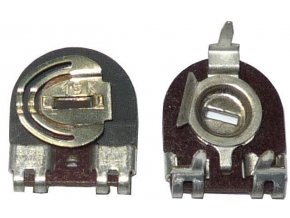 15k - TGL11886, trimer lakosazový ležatý RM10x5mm / ~ TP009 /