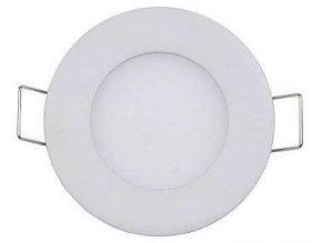 Podhľadové svetlo LED 3W, 85mm, biele, 230V / 3W, vstavané