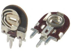 1K0 - TGL11886, trimer lakosazový stojatý RM5x2,5mm / ~ TP008 /