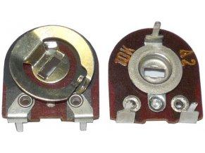 150k - TP042, trimer lakosazový ležatý, RM = 10x12,5mm