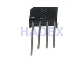 B250C8000 diódový mostík 250V ~ / 8A drôt. KBU8J