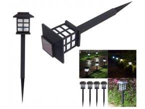 Solární zahradní světlo, Lucerna, 2ks