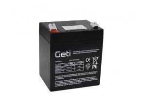 Batérie olovená 12V 4.5Ah Geti
