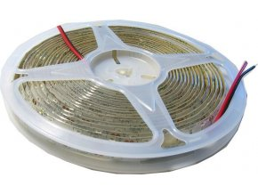 LED pásek 10mm červený, 60x LED5730/m, IP65, cívka 5m