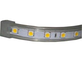 LED pásik 230V biely teplý, 60xLED5050 / m, IP65, modul 1m