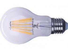 Žiarovka LED E27 8x Filament 230V / 8W, teplá biela