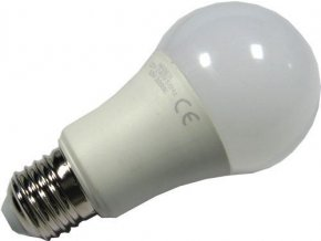 Žiarovka LED E27 A60 hrušková 230V / 12W, biela