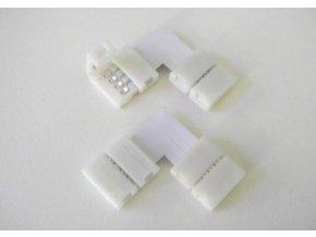 Rohová spojka pro LED pásky 10mm RGB