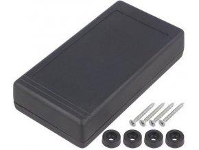 Krabička plastová Z34 /KP24/ 127x65x28mm dvoudílná
