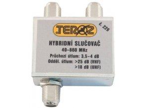 Zlučovač 2x hybridný širokopásmový TEROZ 226x