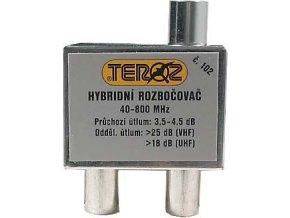 Rozbočovač 2x hybridný širokopásmový TEROZ 102