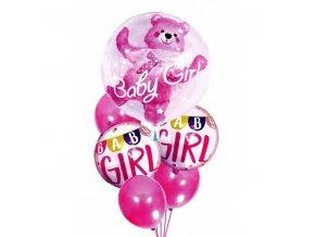 Nafukovací balónky pro dívky BABY GIRL