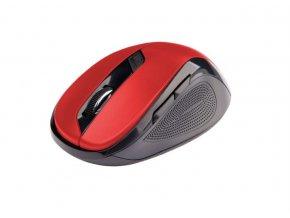 C-TECH Myš WLM-02 bezdrôtová, 6tlač. čierno-červená