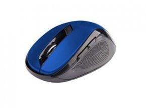 C-TECH Myš WLM-02 bezdrôtová, 6tlač. čierno-modrá