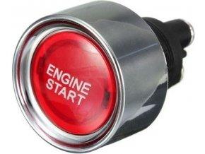 Tlačítko OFF-(ON) 1pol. 12V/50A ENGINE START