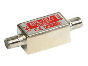 Anténní předzesilovač širokopásmový APL-107e, 174-790MHz