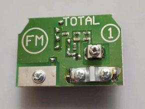 Anténny predzosilňovač 300/75 LOG B FM 87-108MHz / 18dB