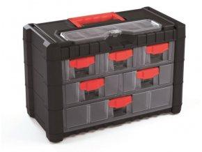 Kufor na súčiastky so zásuvkami 40x20x26cm MULTICASE CARGO