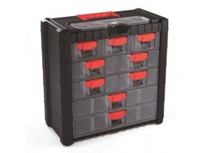 Kufor na súčiastky so zásuvkami 40x20x39cm MULTICASE CARGO