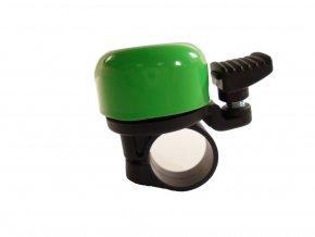 zvonek Baby smalt reflexní zelený