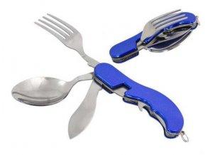 Cestovní nůž příborový - modrý