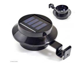 Solárne závesné svetlo čiernej 3xLED