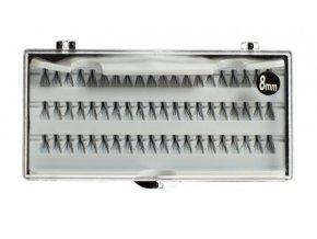 Řasy umělé nalepovací v trsech 8mm, 60ks