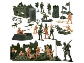 Vojenská základňa pre deti, 114ks