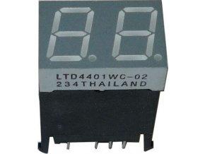 Displej LED LTD-4401WC-02 8.8. červený, spoločné anódy