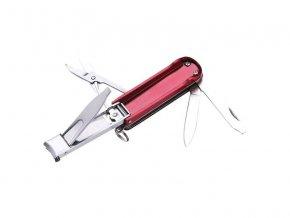 Klip na nechty s nožom a nožnicami EXTOL PREMIUM 8855135