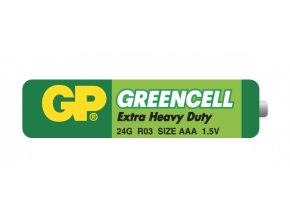 Baterie GP Greencell R03 (AAA)