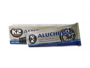 K2 aluchrom 120g - pasta na čistenie a leštenie kovových povrchov