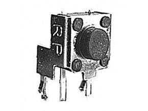 Mikrospínač 6x6mm uhlový v = 6,8 mm