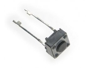 Mikrospínač 6x6x5mm, 2 vývody 20mm