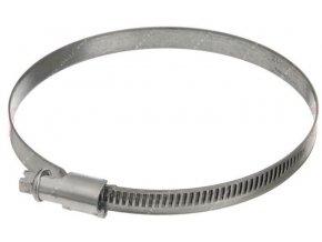 Sťahovacia páska kovová 100-120mm / hadicová spona /