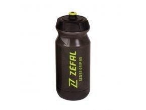 lahev ZEFAL SENSE GRIP 65 černá žlutý potisk
