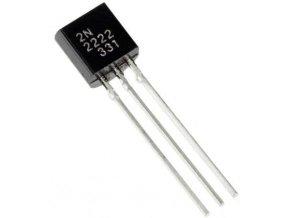 2N2222, tranzistor NPN 40V / 600mA, TO92