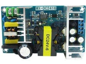 Napájací zdroj-modul WX-DC2416 100-265VAC / 24VDC 6A