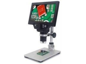 Mikroskop s monitorom G1200, zväčšenie 4-1200x