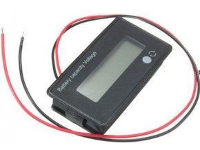 Voltmeter 8-70V a ukazovateľ kapacity batérie 12-50,4V JS-C32