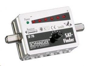 Schwaiger SF-70 - vyhledávač družic