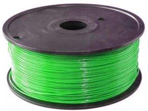 Tlačová struna 1,75mm zelená, materiál PLA, cievka 1kg / 3D tlač /