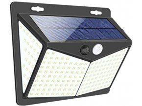 Solárne svietidlo LED-208x s PIR čidlom nástenné / Solárne svetlo /